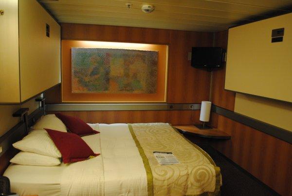 Nuestro crucero en el grand holiday el camarote for Camarote interior grimaldi